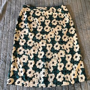 Who What Wear floral midi skirt 6